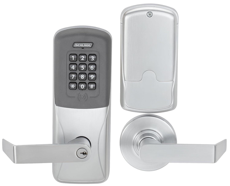 century lock deadbolt front touchscreen schlage door smartthings products locks