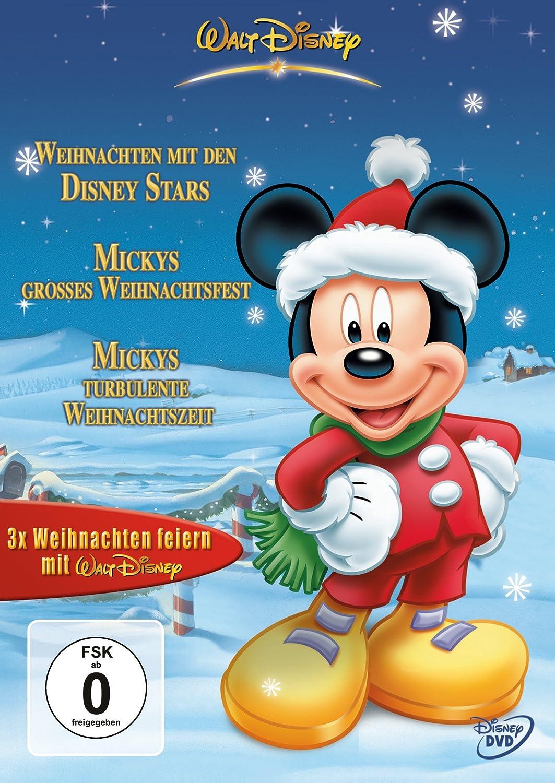 3 x Weihnachten feiern mit Walt Disney [3 DVDs]: Amazon.de: DVD ...
