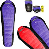 Outdoor Vitals Atlas 15°F Lightweight Down Sleeping Bag with Compression Sack &