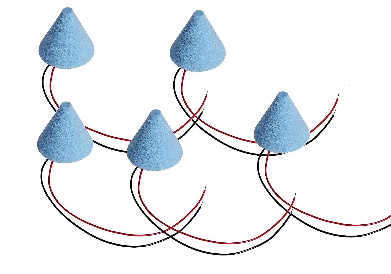 ddt E-Drum PRO Trigger Kegel Piezo Sensor blau Cushion Konus cone 3J Garantie