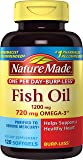 Nature Made Fish Oil, 1200mg, 720 mg OMEGA-3, 120-Count One Per Day
