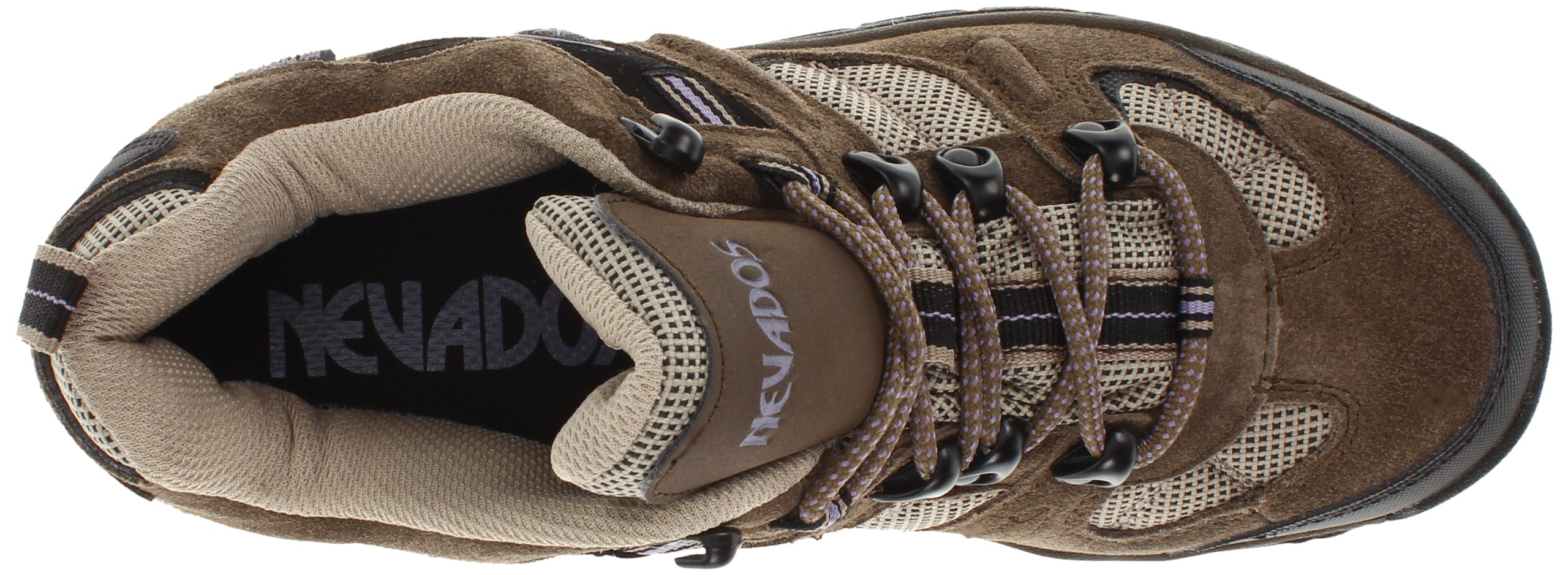 Nevados Women's Klondike Waterproof Low V4161W Hiking Boot,Dark Brown/Black/Taupe,9.5 M US by Nevados (Image #7)