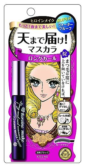 Kiss Me Heroine Make Long and Curl Mascara WP