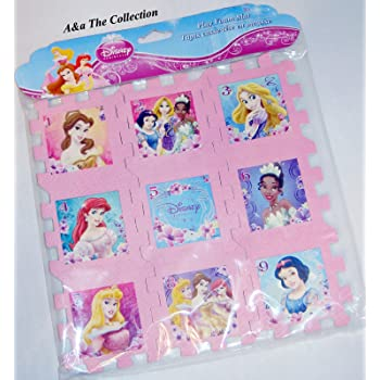 Amazon Com Disney Princess Soft Foam Hopscotch Play Mat