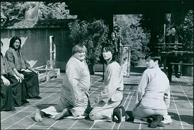 Amazon.com: Vintage photo of Chris Farley and Robin Shou in ...