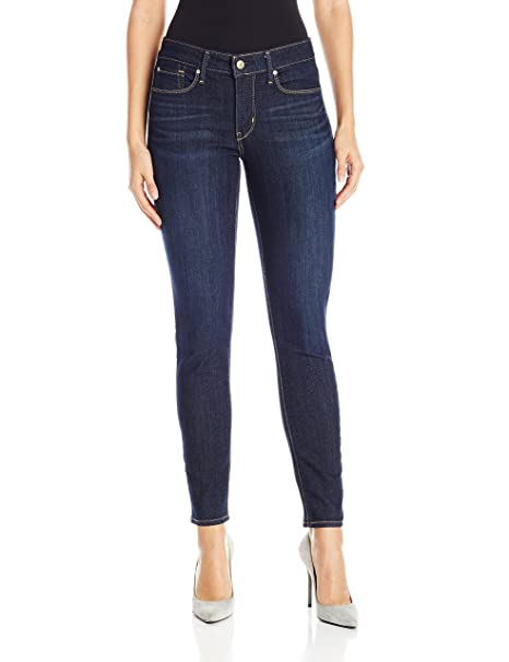 Signature by Levi Strauss & Co Women's Totally Shaping Skinny Jeans, Gala, 12 Medium best skinny jeans