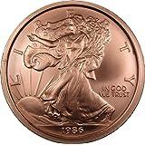 One Pound Copper Round