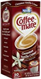 Coffee-mate Liquid Creamer Singles - Cinnamon Vanilla Creme - 50 ct