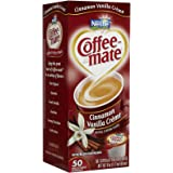 Coffee-mate Liquid Creamer Singles - Cinnamon Vanilla Creme - 50 ct
