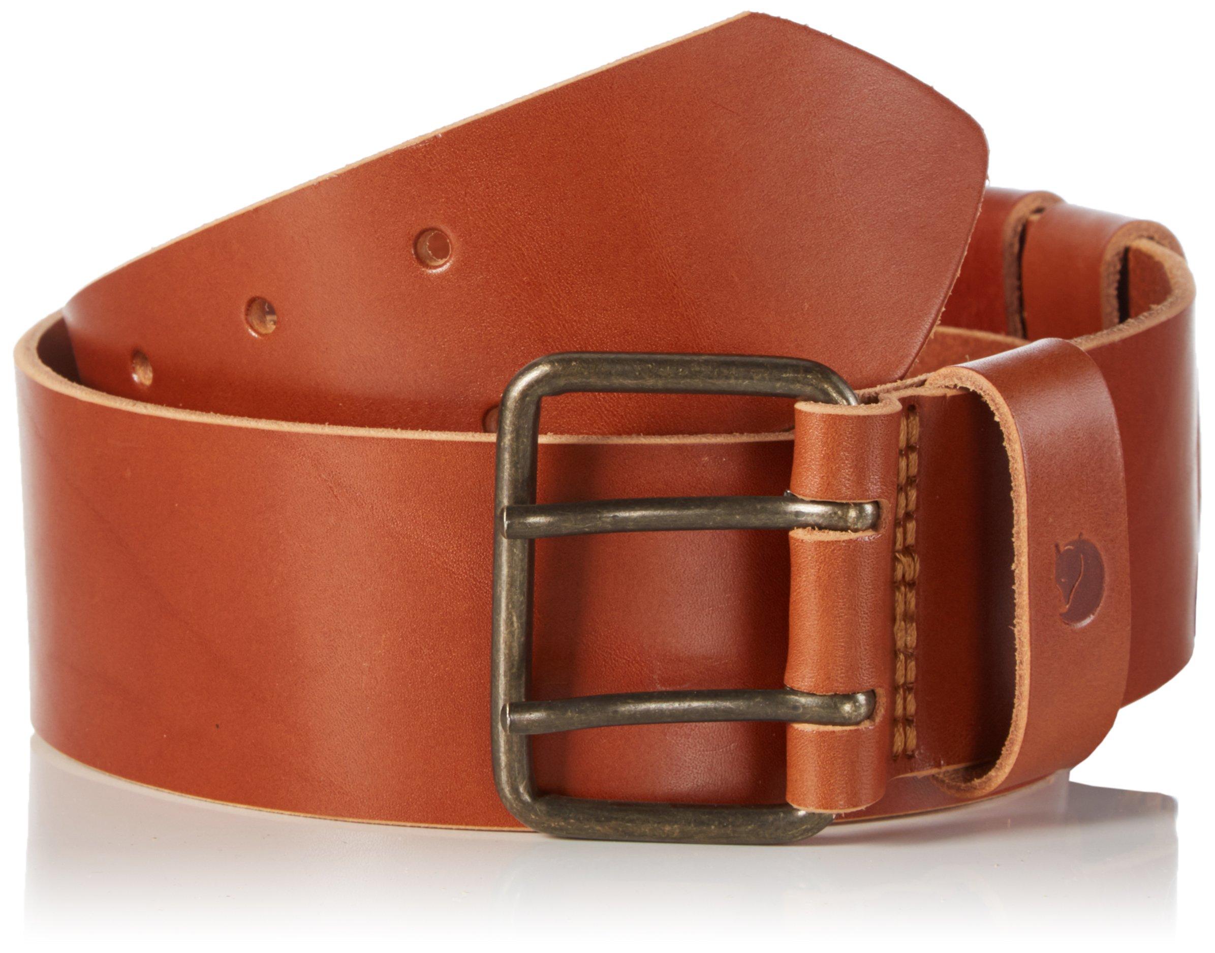Fjallraven F77342 Equipment Belt, Leather Cognac - 85cm