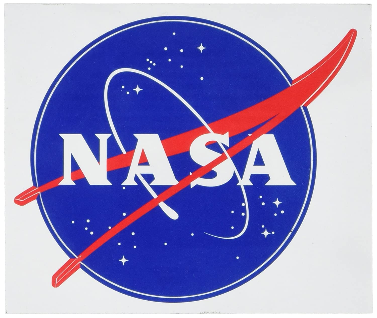 Amazon com american vinyl round nasa seal meatball logo sticker insignia decal automotive