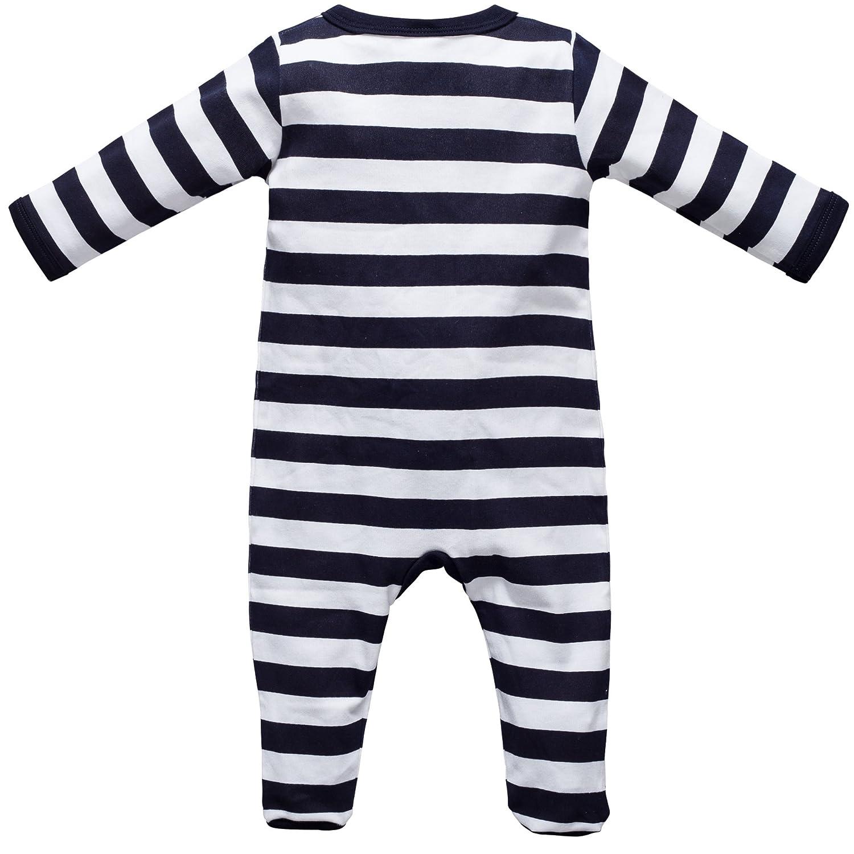 Baby Strampler Schlafanzug mit F/ü/ßen Gr/ö/ße 0-24 Monate Autos
