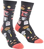 Sock It To Me, Whisking Business, Women's Crew Socks, Kitchen Food Socks