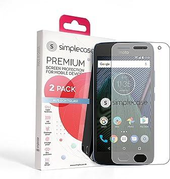 Simpl ECASE Premium Protector de Pantalla tamaño: 2 Pack Lenovo ...