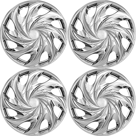 Tapacubos para Toyota (Pack de 4) fundas para ruedas – 14 Inch, fijación