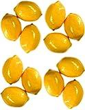 Artificial Lemons for Decoration - Set of 12