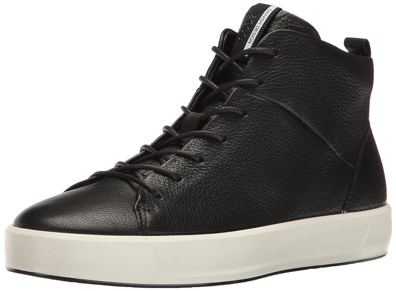 ECCO Women's Soft 8 High-Top Fashion Sneaker B01I6GTF00 36 EU/5-5.5 M US|Black