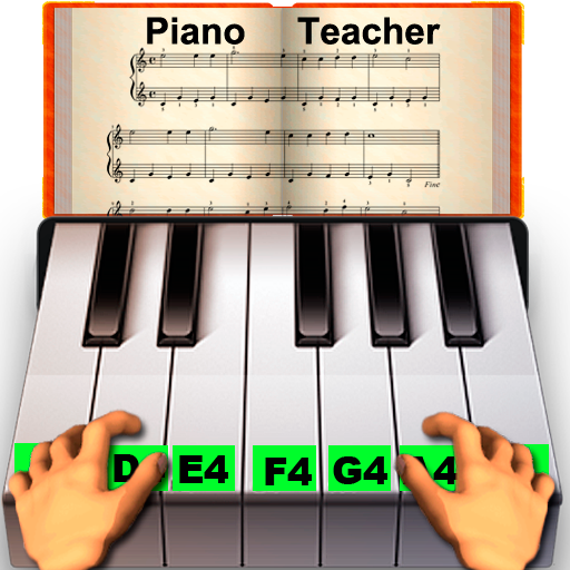 Real Piano Teacher (Games To Play With Kids)