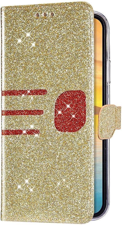 IKASEFU - Funda para iPhone 6 Plus/6S Plus (piel sintética suave ...