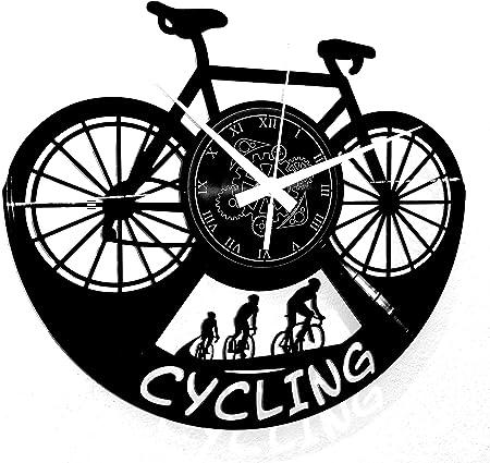 Reloj de Pared con diseño de Karma instantáneo, Reloj de Pared, para Bicicleta de Francia, Giro dItalia: Amazon.es: Hogar
