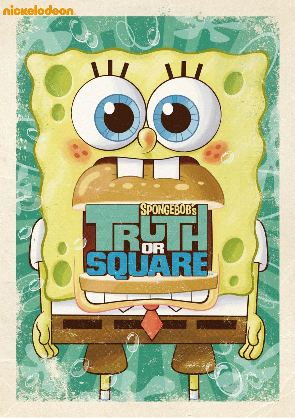 amazon com spongebob squarepants truth or square spongebob