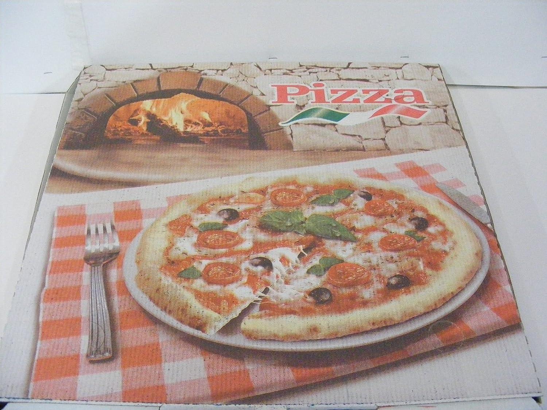 100 Caja Cajas Caja pizza Puerta Pizza al metro cartón 35 x 75 x 5 Pizzeria Hornos: Amazon.es: Industria, empresas y ciencia