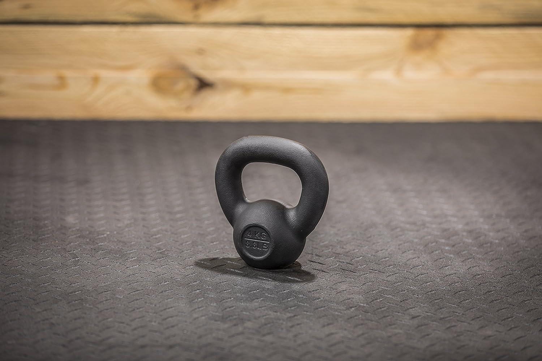 LifeLine Fitness Premium Kettlebell Gewicht Fitness LifeLine Training Zubehör (Mehrere Gewichte erhältlich) cb5f76
