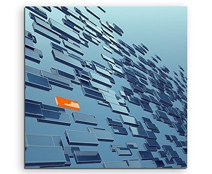 60 x 60 cm Rectangles_Art_ lienzo en bastidor - diseño de ...