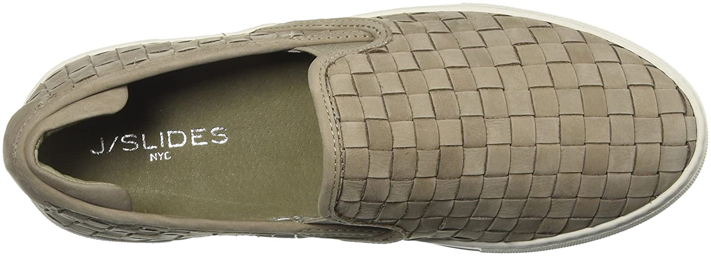 J Slides Women's Proper Sneaker B076DQG4CR 9 B(M) US White
