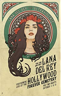 Amazon com: Posters Elite's Lana Del Ray Singer Songwriter