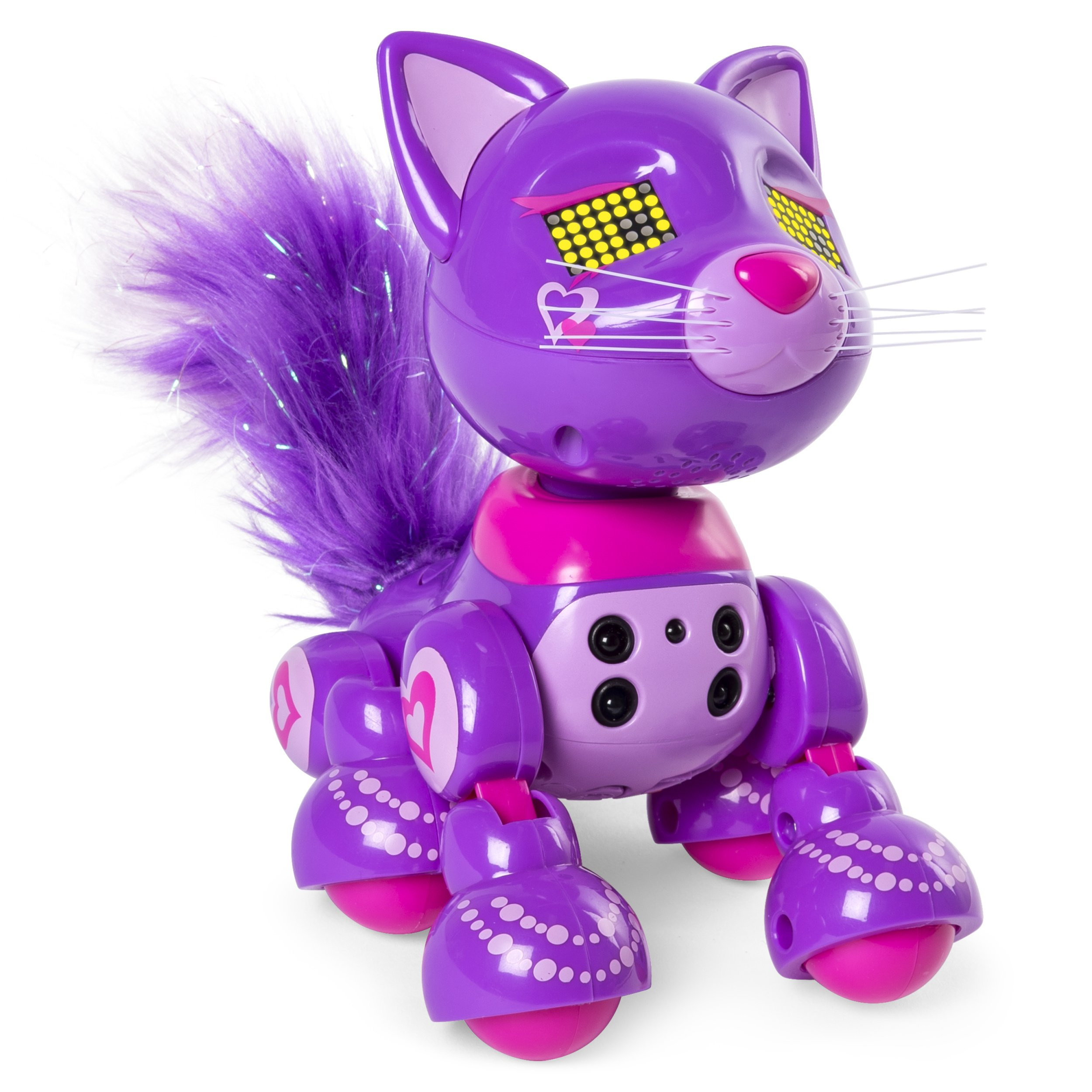 Zoomer Meowzies, Posh, Interactive Kitten with Lights, Sounds and Sensors