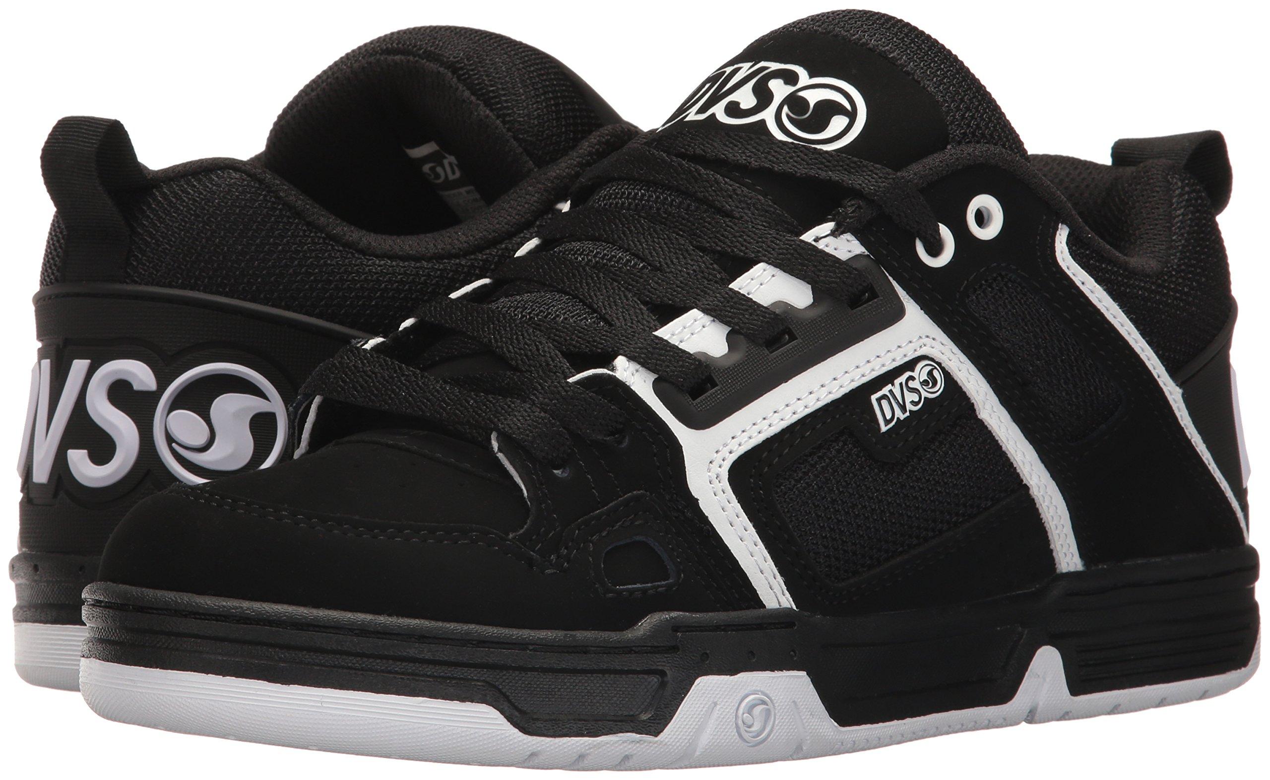 DVS Men's Comanche Skate Shoe, Black/White Nubuck, 12 Medium US by DVS (Image #6)