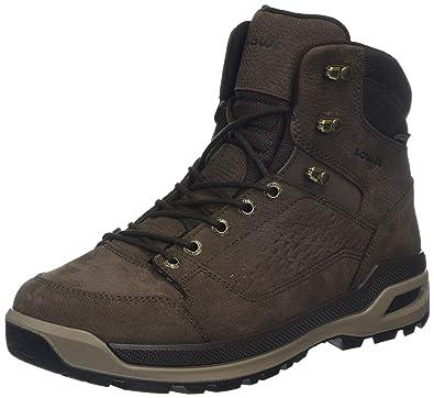 6d7e3a79973990 Lowa Herren Locarno Ice GTX MID Trekking-   Wanderstiefel Braun  (Marronescuro 0493) 41