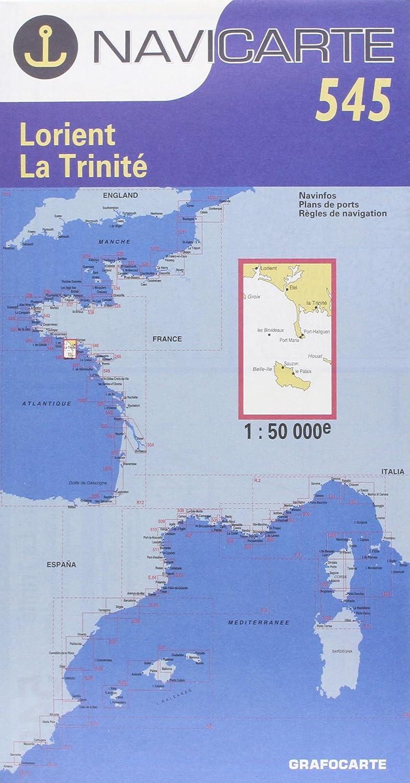 NAVICARTE Carte Marine Atlantique