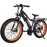 Addmotor MOTAN 1000W Electric Bicycles 17.5AH 30MPH Electric Bikes Bafang BBSHD Middle Hub Brushless Motor Panasonic Lithium Battery Fat Bikes Mountain M-5800 E-bikes