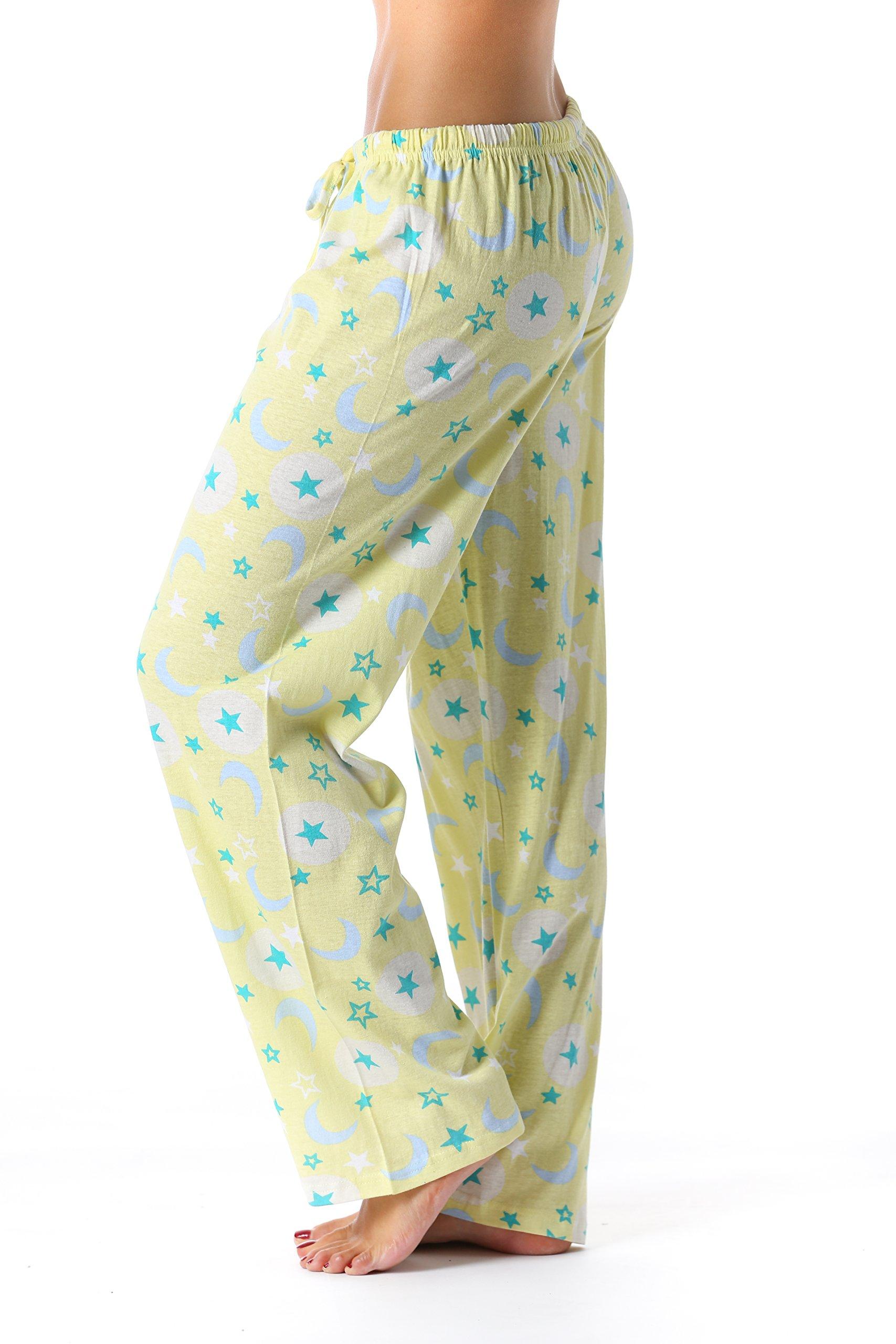 Just Love 6324-10061-S Women Pajama Pants/Sleepwear, Celestial Glow, Small by Just Love (Image #2)