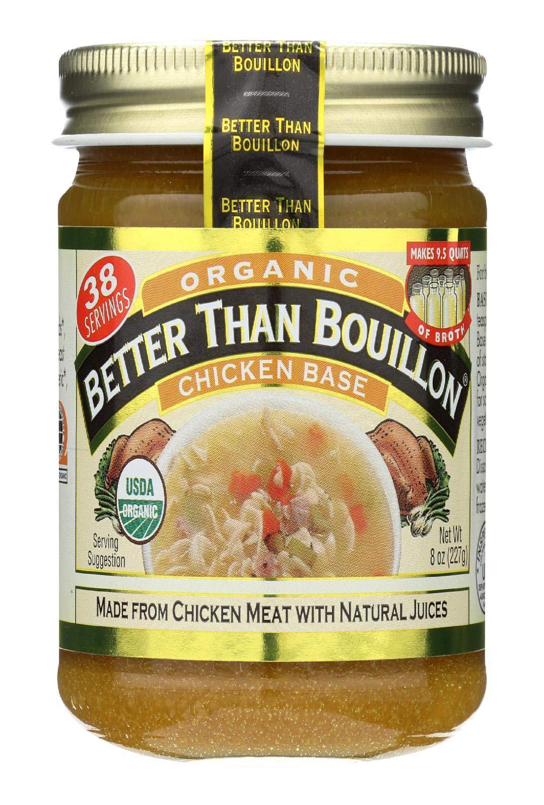 Better Than Bouillon, Organic Chicken Base, 8 Ounce