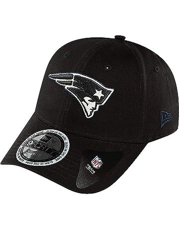 info for 5656c 77854 New Era 9FORTY New England Patriots Baseball Cap - Team GITD Basic - Black