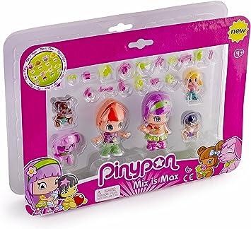 Pinypon - Pack de 6 Figuras bebés (Famosa 700014086): Amazon.es ...