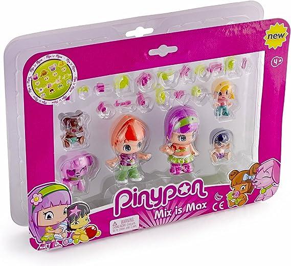 Pinypon - Pack de 6 Figuras bebés (Famosa 700014086): Amazon.es: Juguetes y juegos