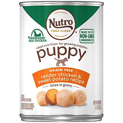Nutro Puppy Canned Wet Dog Food,