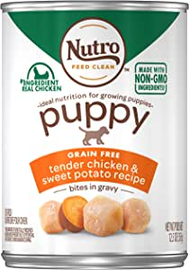 Nutro Puppy Canned Wet Dog Food, (12) 12.5 oz. Cans