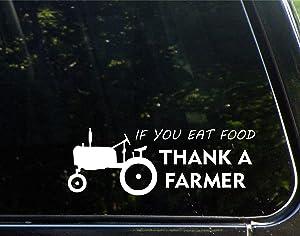 Diamond Graphics If You Eat Food Thank A Farmer (8-3/4