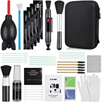 Zacro 17-in-1 Camera Cleaning Kit for DSLR Cameras (Canon, Nikon,Sony), with Air Blower/Cleaning Pen/Detergent/Cleaning…