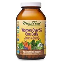 MegaFood, Women Over 55 One Daily, Supports Optimal Health and Wellbeing, Multivitamin...