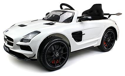 Amazon Com Mercedes Benz Sls Amg Black Series 12v Children S Kid S
