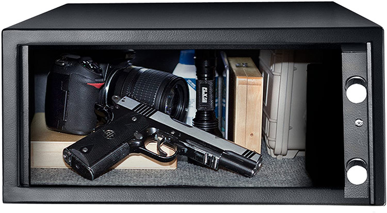 Amazon.com : BARSKA Biometric Safe : Gun Safes And Cabinets ...