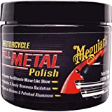 Meguiar's 78258 Pulitore Metalli Cromature per Motociclette