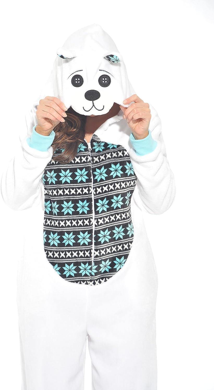 Just Love Velour Adult Onesie Pajamas 81socJVNGvL