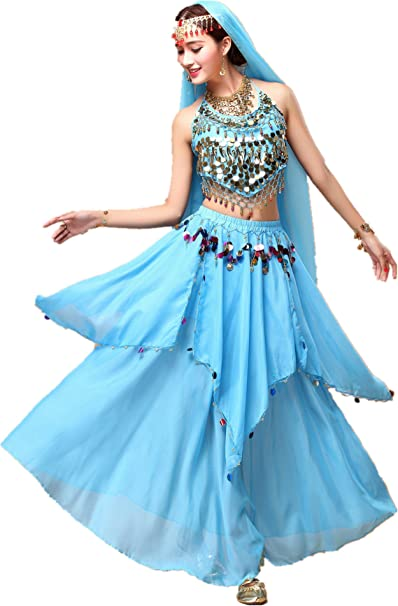 Amazon.com: YYCRAFT - Disfraz de halter, falda para mujer, 8 ...